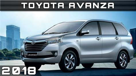 2018 toyota avanza release date and new design 2018 vehicles
