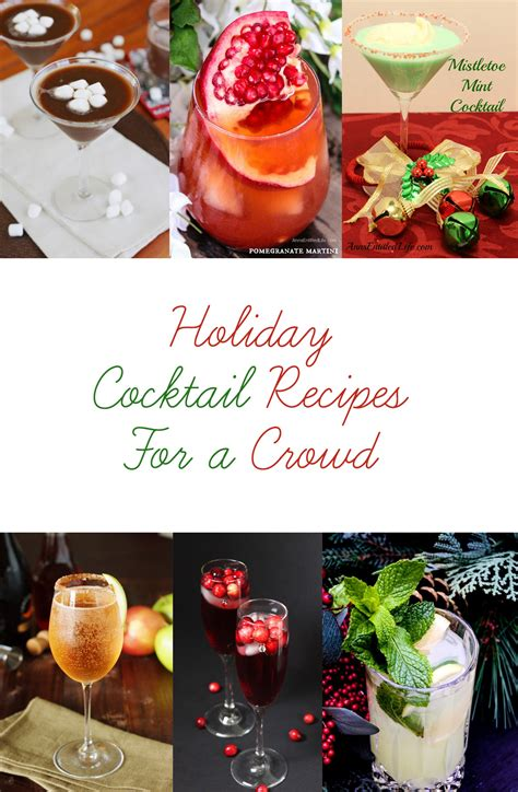 best christmas food for a crowd cocktail recipes for a crowd simply charmed