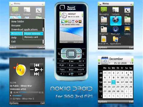 mobile themes in nokia android theme for nokia mobile phone techtrickz