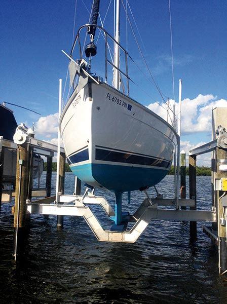 boat lifts punta gorda fl custom solutions golden boat lifts