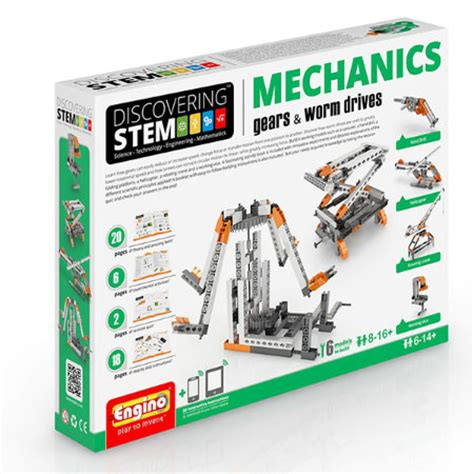 desk toys for engineers stem gears worm drives