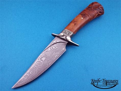 Handmade Knife Makers - custom knives made by larry fuegen for sale by knife