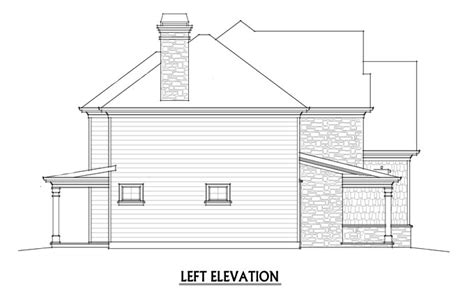 2 Story 4 Bedroom Rustic House Floor Plan By Max Fulbright 4 Bedroom House Plans Rustic