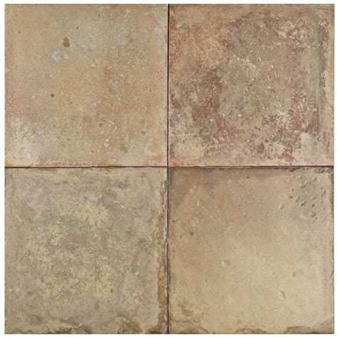 X Ceramic Floor Tile Daltile Quarry Tile Ashen Gray 4 In X 8 In Ceramic Floor And Wall Tile 10 76 Sq Ft