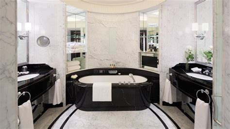 premier bathroom design the peninsula hotel paris luxury interior design journal
