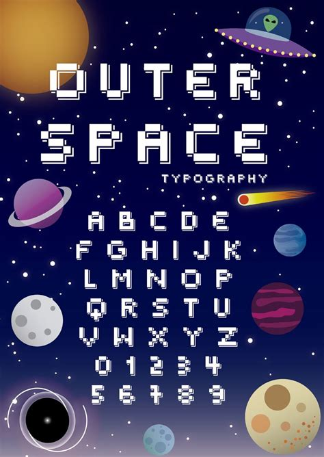 outer space regular font