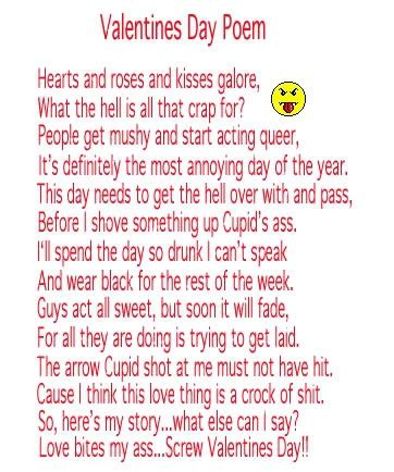 silly valentines day poems maple syrup land february 2013
