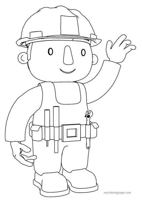 bob the builder coloring pages pin coloring pages bob the builder on