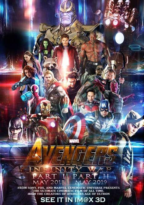 fan  avengers infinity war   poster