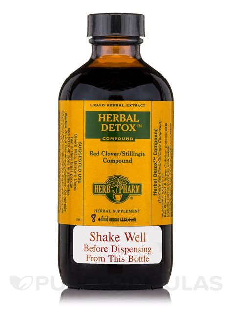 Clover Detox by Herbal Detox Clover Stillingia Compound 8 Fl Oz