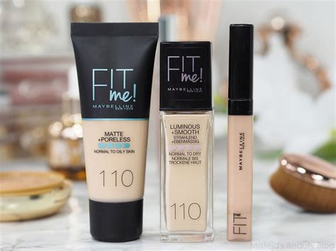Maybelline Fit Me Matte And Poreless maybelline fit me matte poreless version mateja