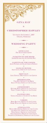 Wedding Programs Wedding Program Wording Program Sles Program Exles Wedding Program Templates Indian Wedding Itinerary Template