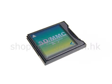 Adapter Adaptor Micro Sd To Mmc Kode Df7371 Cf To Sd Mmc Card Adapter