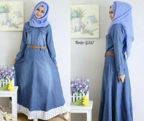Overall Rok Payung W196 gamis renda payung g357 baju style ootd
