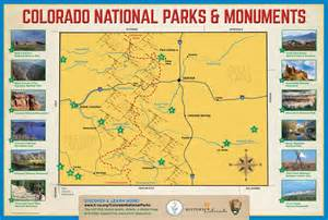 map of national parks in colorado colorado national parks and monuments history colorado