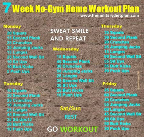6 week home workout plan 1000 images about fitness on pinterest yoga workouts