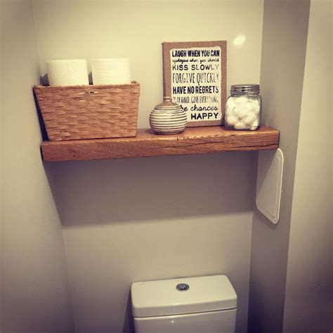 floating railway sleeper shelf delighted bathroom