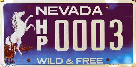 nevada license plates pl8s