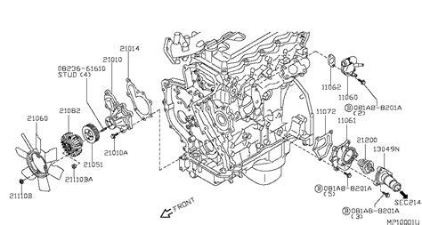 nissan navara gearbox diagram