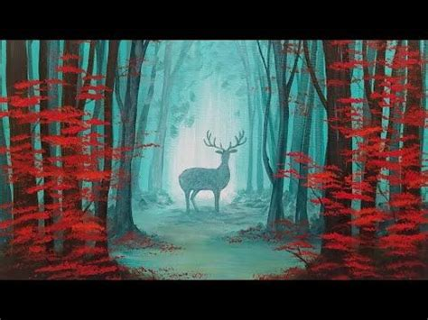 acrylic painting forest tutorial best 25 acrylic painting tutorials ideas only on