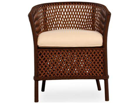 wicker barrel dining chair lloyd flanders grand traverse wicker cushion barrel arm