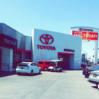 norwalk toyota service norwalk toyota car dealership in norwalk ca 90650