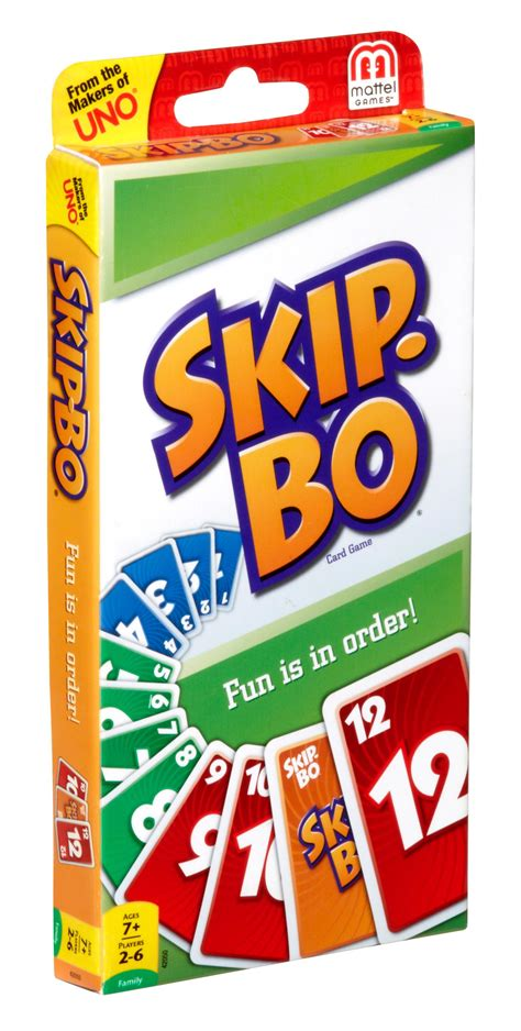 how many cards in a skipbo deck skip bo card mattel new classic cards sealed