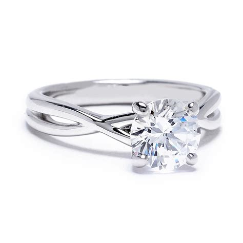 sholdt twisted band engagement ring setting greenwich st