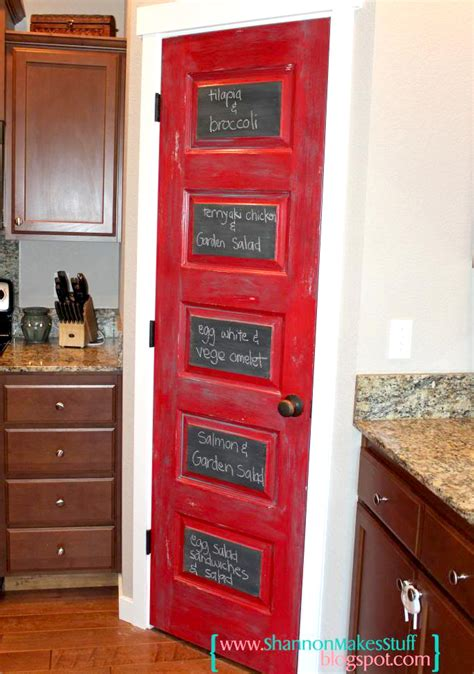 Chalkboard Paint Kitchen Ideas 8 Fairly Pantry Door Concepts That Showcase Your Storeroom
