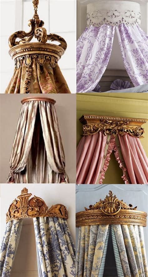 drapery crown 17 best ideas about canopy bed curtains on pinterest bed
