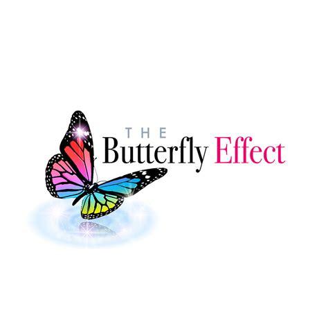 effect logo design the butterfly effect logo design