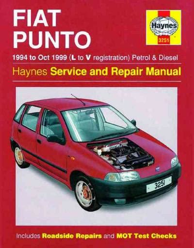 fiat punto petrol diesel 1994 1999 haynes service repair manual sagin workshop car manuals