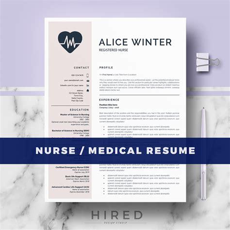 resume templates hired design studio