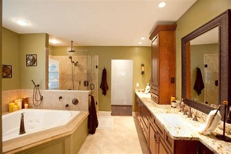 before and after master bathroom remodels bathroom remodel nest designs llc