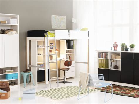 lofty kast lundia lofty bed and lundia classic shelves for the home