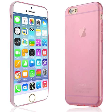 Ultrathin Iphone 6g Soft Ultra Thin pink for apple iphone 6g tpu gel 0 3mm ultra thin transparent cover ebay