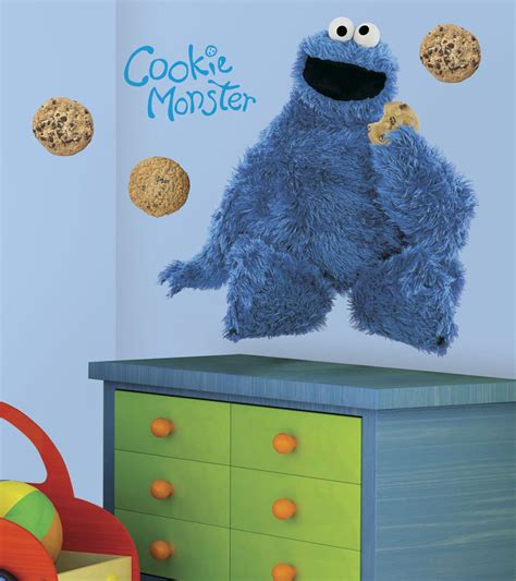 sesame street wall decor collection for elmo themed