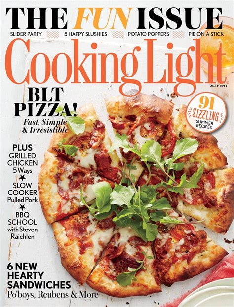 cooking light magazine recipes cooking light magazine for only 0 83 per issue