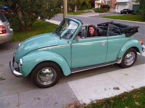 classic vw beetle 1976 classic cars kingston kijiji