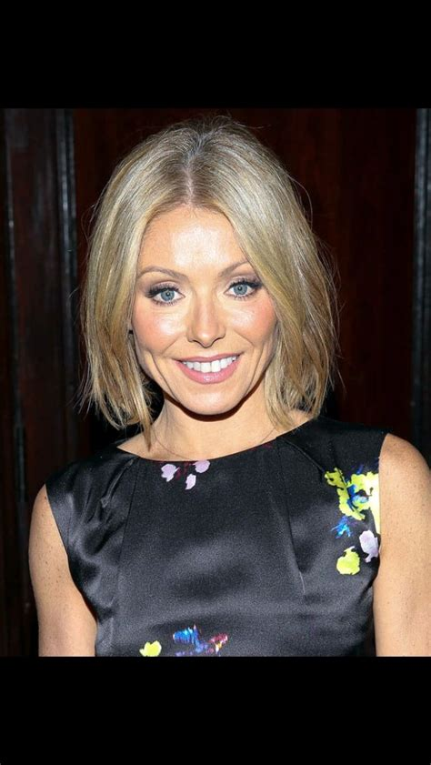 kelly ripa messy bob 337 best images about hair on pinterest bobs inverted