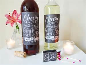 diy free printable wine labels just b cause