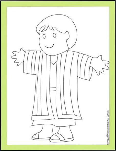 sunday school coloring pages for joseph 101 best joseph coat of many colors images on pinterest