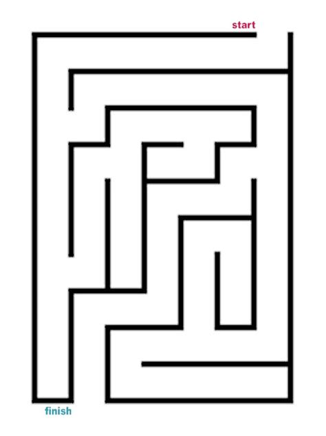 printable easy maze puzzles easy maze cake ideas and designs