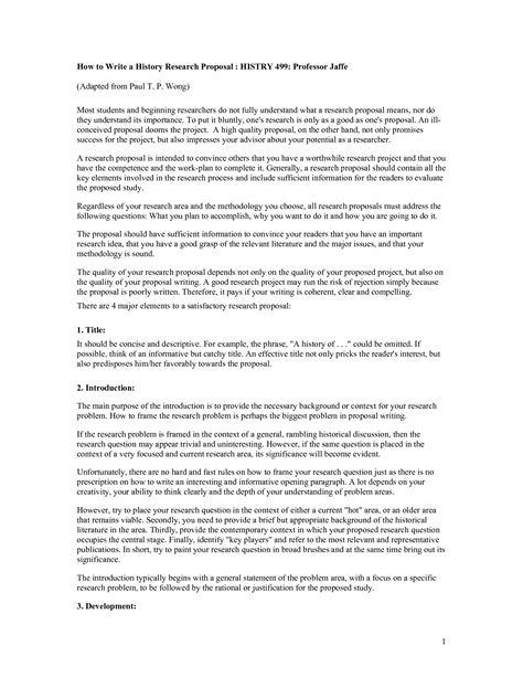 writing a history research paper research history