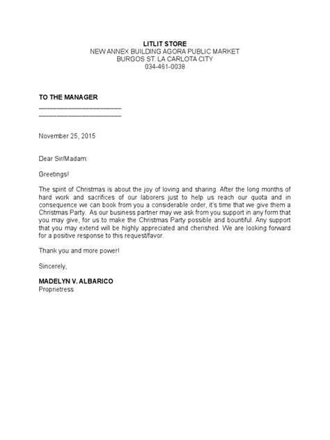 thank you letter solicitation sle solicitation letter to suppliers