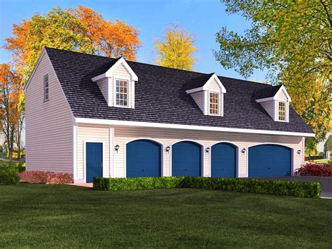Four Car Garage Plans by 4 Car Garage Cabin Plans With Living Quarters Google