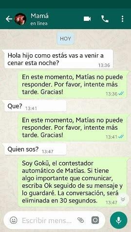 cadenas de whatsapp romanticas una broma en whatsapp de un hijo a su madre es furor en