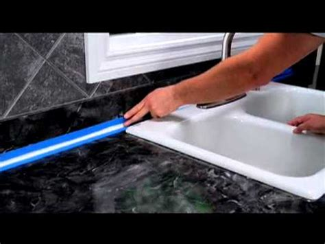 caulking kitchen backsplash how to seal around a kitchen backsplash
