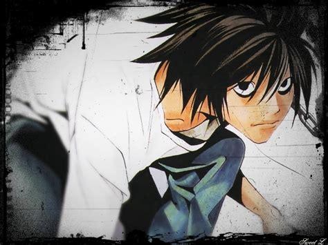 L Anime by L Wallpapers Note Wallpaper 8618245 Fanpop
