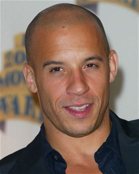 black styles if youre bald in front vin diesel proves a shaved head is highly desirable his